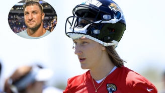Trevor Lawrence Ready To Find Chemistry With Tim Tebow, Says He 'Looks Great'
