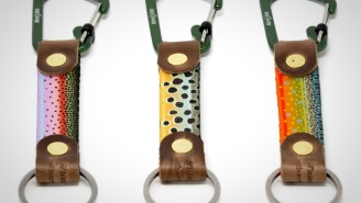 These Awesome Handmade Fish Print Carabiner Key Hooks Are Handmade In Montana