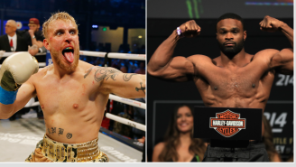 Jake Paul Will Reportedly Face Former UFC Champion Tyron Woodley In Boxing Match