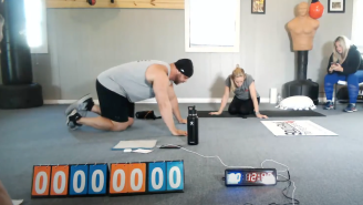 Marine Corps Veteran Demolishes 30-Year-Old World Record For Most Pushups In An Hour