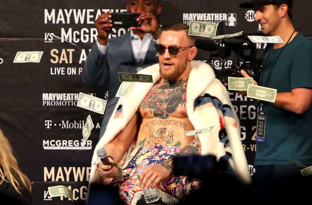 Highest-Paid Athletes in the world 2021 Conor McGregor