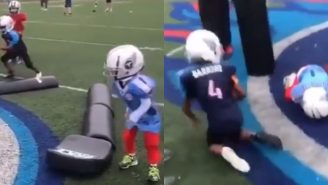 Youth Football Coach Was Reportedly Fired Over Video Of Two Kids Participating In Violent Football Drill
