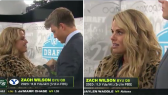 Zach Wilson's Mom Blames 'NY Media' For Turning Her Life 'Upside Down'