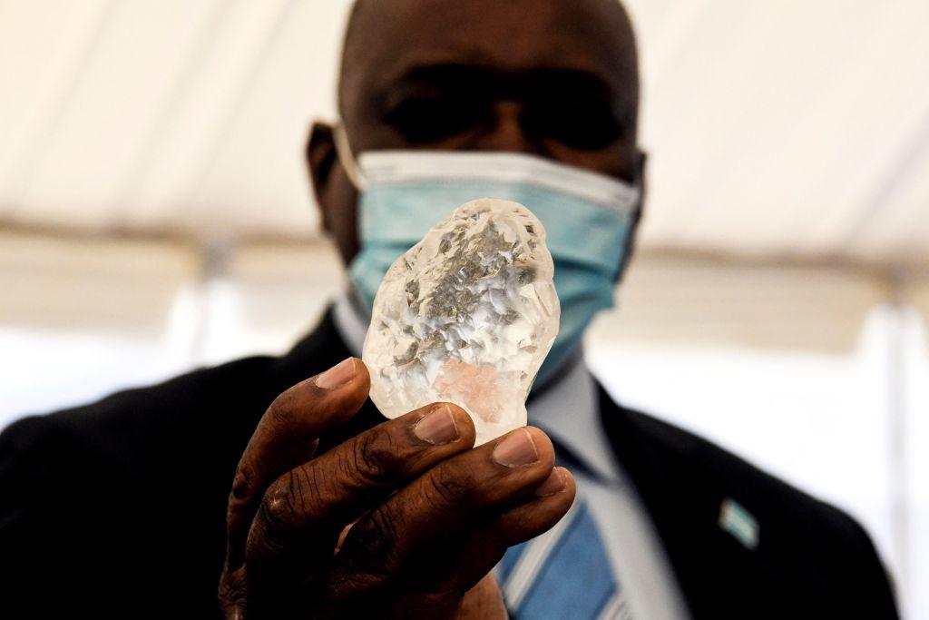 1,098-carat diamond Botswana third largest in the world