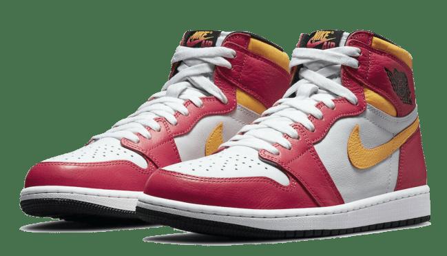 Air Jordan 1 Retro High OG Light Fusion Red