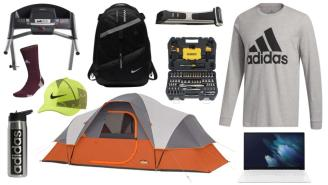 Daily Deals: Tool Kits, Tents, Treadmills, Nike Sale And More!
