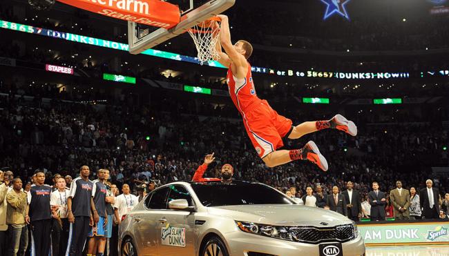 Blake Griffin dunk contest car fate