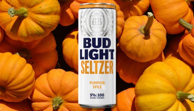 Bud Light Pumpkin Spice hard seltzer