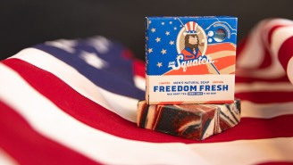 Dr. Squatch Freedom Fresh Soap Bars Are Back – Just In Time For The 4th Of July!
