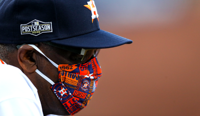 Dusty Baker Thinks Fan Voting Hurts Astros Chances Of Being All-Stars