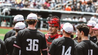LOOK: N.C. State Plays College World Series With Only 13 (!!) Active Players After COVID-19 Ravishes Roster