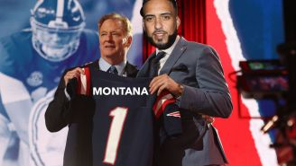 The New England Patriots Have Drafted French Montana (Judging By Mac Jones' Pre-Face Scan Madden Avatar)