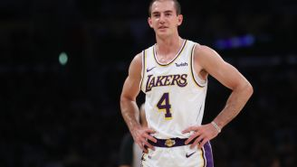 Lakers Guard Alex Caruso Arrested In Texas For Possession Of Less Than 2 Oz Of Marijuana, Mugshot Released