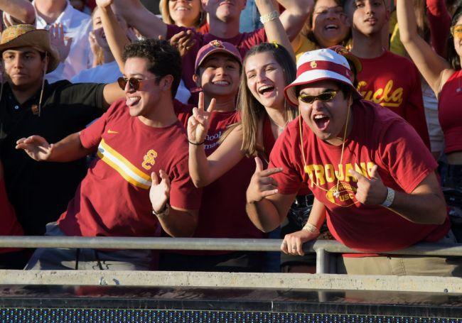 USC UCLA Football Fans