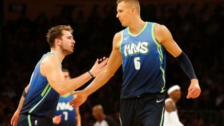 Luka Doncic Was Reportedly Angry With Kristaps Porzingis For Breaking Protocol By Visiting L.A. Strip Club During Playoffs