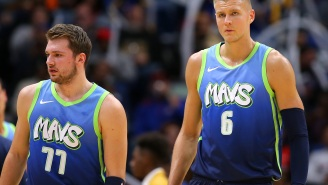 Kristaps Porzingis Gets Ripped To Shreds By Fans After Report Claims He's Unhappy Playing Alongside Luka Doncic