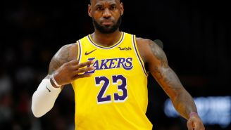NBA Fans React To LeBron James Tweeting Cryptic Song Lyrics Directed At The Haters