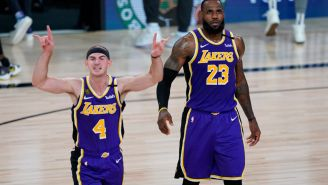 LeBron James Reacts To Teammate Alex Caruso Getting Arrested For Marijuana Possession