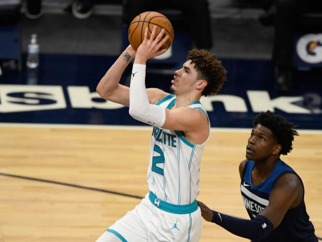 LaMelo Ball Anthony Edwards Rookie Of The Year