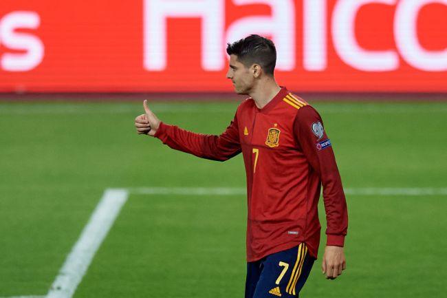 Alvaro Morata Spain Euros