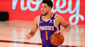 People Are Blaming Devin Booker For Suns Fans Fighting Clippers Fans In Latest Viral Brawl Video