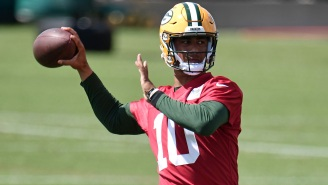 Packers Backup QB Jordan Love Was 'On Fire' During Impressive Practice Session After Struggling On First Day Of Minicamp