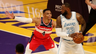 Lakers Fans Are Convinced Team Is Trading For Russell Westbrook After LeBron James And Anthony Davis Both Follow Nina Westbrook On Instagram