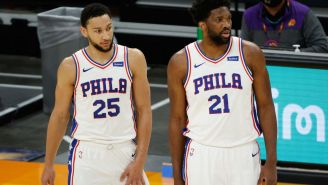 Sixers' Joel Embiid Appears To Takes A Shot At Teammate Ben Simmons By Admitting That Simmons Passing Up Wide Open Dunk Was 'Turning Point Of The Game'