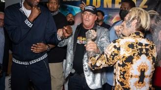 Former NBA Player Lamar Odom Beats Down Aaron Carter In Bizarre Celebrity Boxing Match