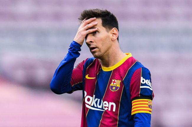 Lionel Messi Barcelona Free Agent