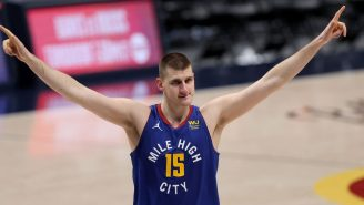 DJ Nikola Jokic Took Over The Music During A Nuggets Workout And Austin Rivers Was Having None The MVP's Playlist