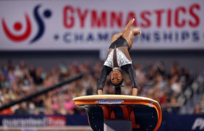2021 U.S. Gymnastics Championships - Simone Biles