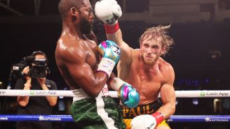 Floyd Mayweather Accidentally Reveals How Much He Made For 'Fake Fight' Against Logan Paul