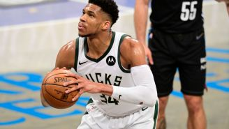 THIS LEAGUE! James Harden Yelled At Giannis Antetokounmpo For Taking Too Long With His Free Throws