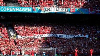 Belgium, Denmark Pay Tribute To Christian Eriksen With A Bone-Chilling Ovation, Stoppage In Play At EURO 2020