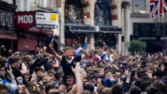 Scotland Fans Took Over London Before The Oldest Rivalry In International Soccer And Went Absolutely Bonkers In The Streets