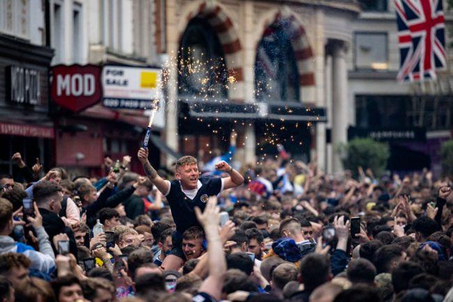 Scotland Tartan Army Fans England Euro 2020