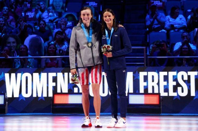 Katie Ledecky Katie Grimes 2021 U.S. Olympic Trials - Swimming - Day 7