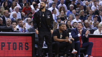 Drake Argues With Ref At High School Basketball Game After Showing Up To Watch LeBron James' Son Bronny Play