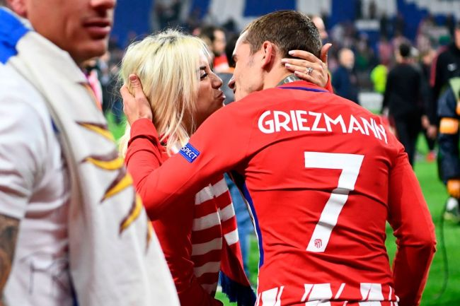 Antoine Griezmann Wife France