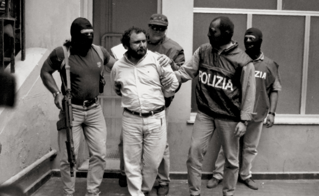 Giovanni Brusca, a Sicilian gangster nicknamed the killer of people released from prison