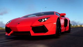 Genius Wrecks A Lamborghini Aventador Cooking A Kebab With The Car's Flaming Exhaust