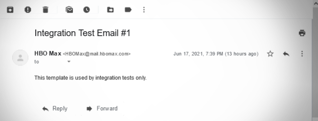 HBO Max Explains Why People Got A Cryptic Integration Test Email 1