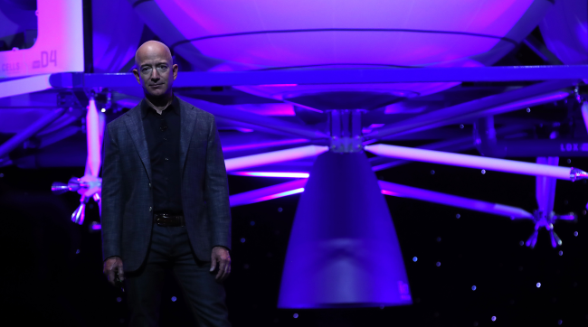 Jeff Bezos Is Going To Space On One Of His Blue Origin Rockets