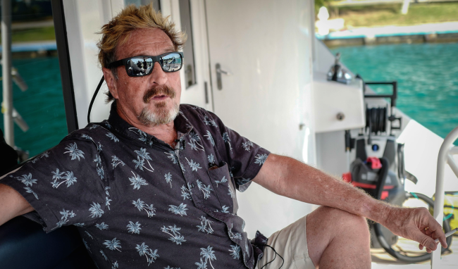 John McAfee Wife Made Startling Claims Just 3 Days Before His Death