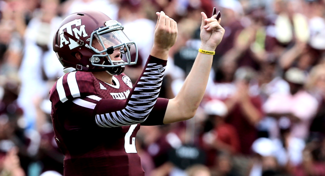 Johnny Manziel Talks How Much He Got Paid For Autographs In College