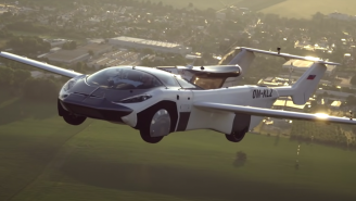 The Future May Finally Be Here After A Flying Car Achieved A Major Milestone For The First Time In History