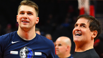 Mark Cuban Issues A Blunt Two-Word Response To Shut Down Rumors Luka Doncic Is Unhappy In Dallas