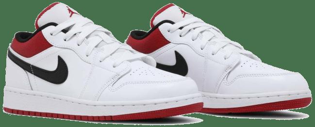 Nike Air Jordan 1 Low White Gym Red