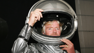 Richard Branson Looking To Move Up Date Of His Space Flight So He Can Beat Jeff Bezos